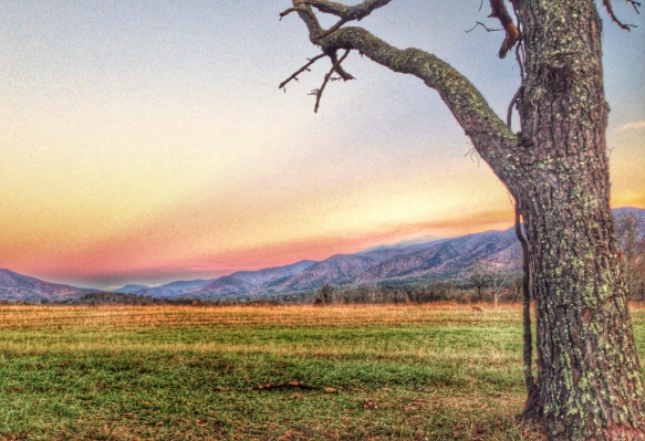 HDR view of Cades Cove