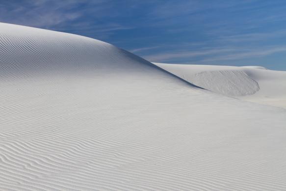 Untouched dune landscape
