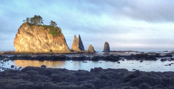 Sea stacks at sunrise 4