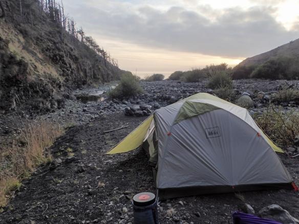 campsite LCT