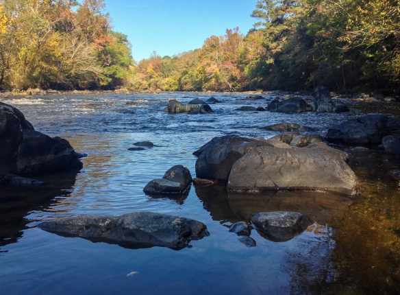 Haw River reflections 3