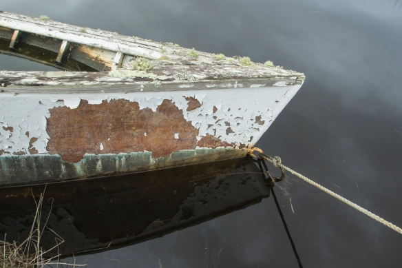 Abandoned boat at Swan Qtr 2