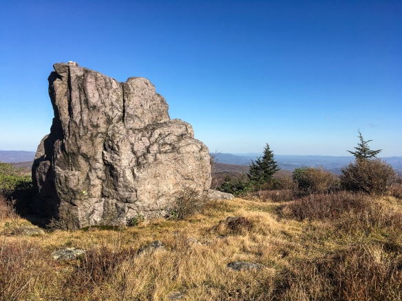boulder on Wilburn Ridge