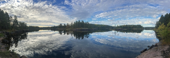pano late day reflections