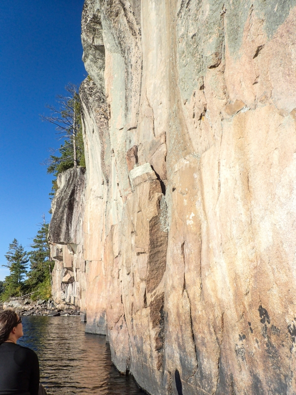 Rock painting cliffs 1
