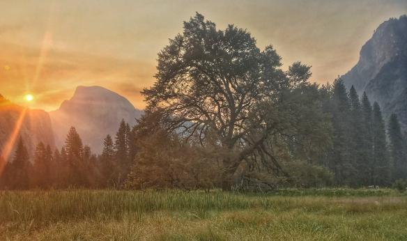 sunrise Yosemite Valley