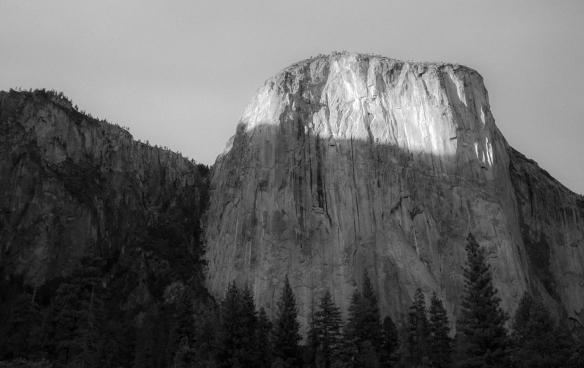 sunset Yosemite Valley
