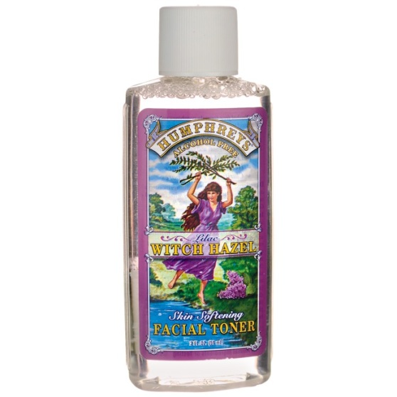 Witch hazel bottle